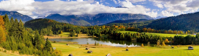 Ferienwohnungen und Hotels im Karwendel - Krün