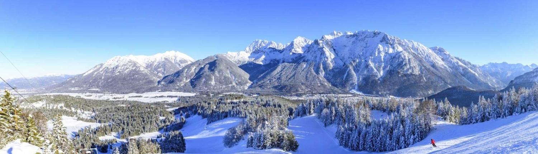 Ferienwohnungen und Hotels im Karwendel - Winterurlaub