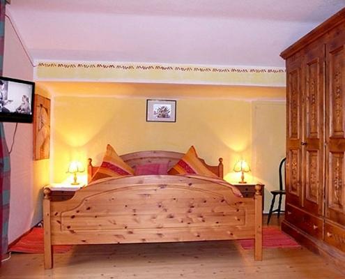Ferienwohnung-Pension Berghof Schlafzimmer