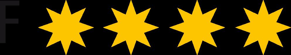 Ferienwohnungen Klassifizierung 4 Sterne