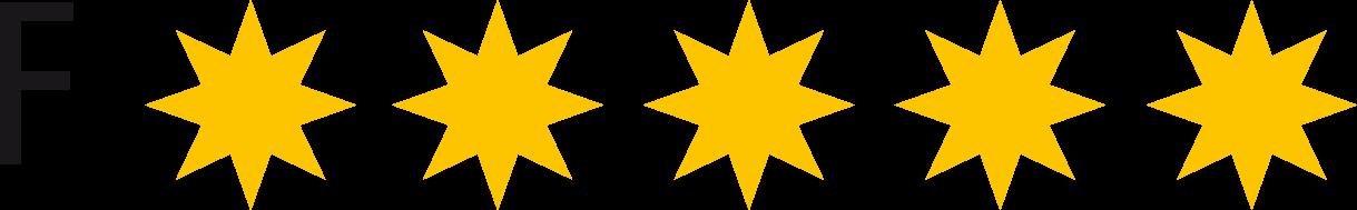 Ferienwohnugnen Klassifizierung 5 Sterne