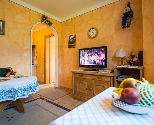 Ferienwohnung Alpenwelt Soiern-Wohnzimmer