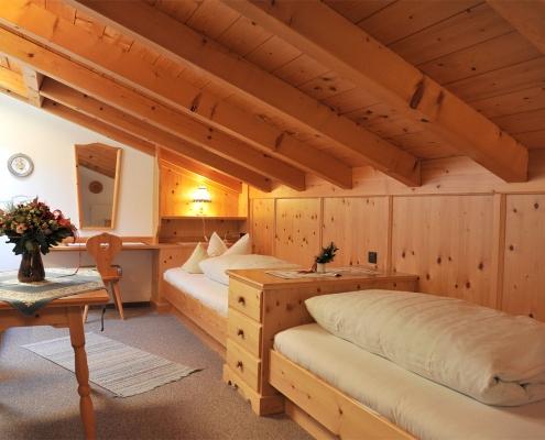 Ferienwohnung Alpenwelt Karwendel-Schlafzimmer