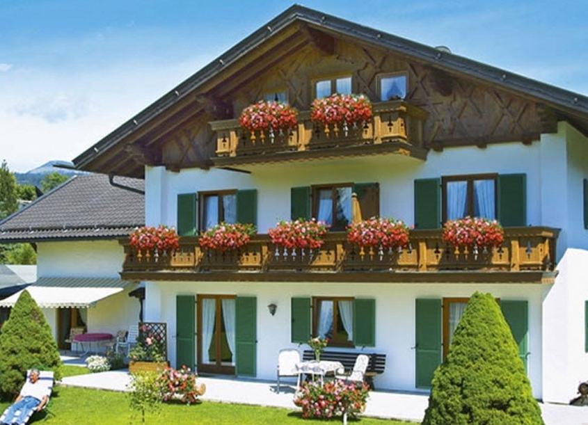 Ferienwohnung Alpenblick im Sommer