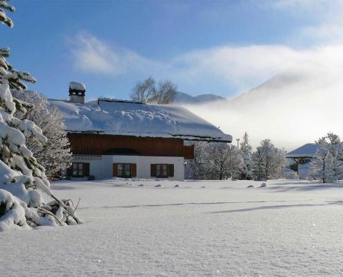 Ferienwohnung Alpenwelt im Winter