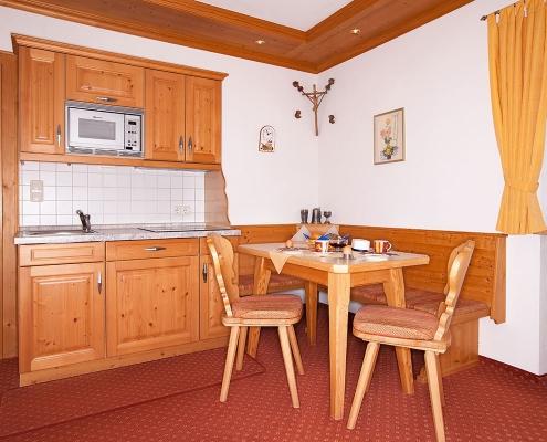 Ferienwohnung Alpenblick Barmsee Küche