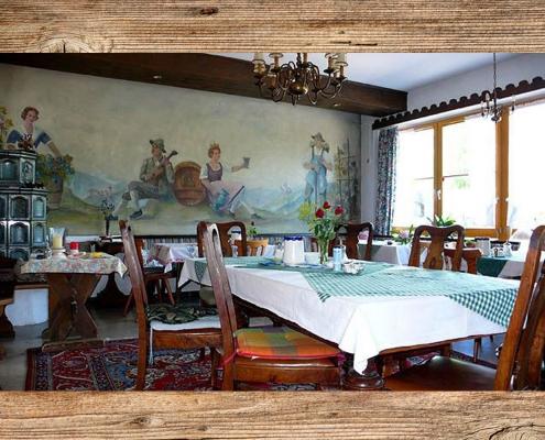 Ferienwohnung-Pension Berghof Gaststube