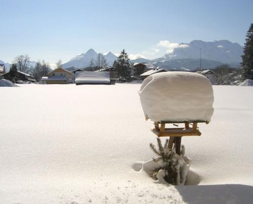 Ferienwohnung Bernhard im Winter