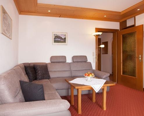 Ferienwohnung Alpenblick Eibsee-Couch