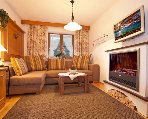 Ferienwohnung Zum Baur - FeWo 3 - Viererspitz - Wohnzimmer