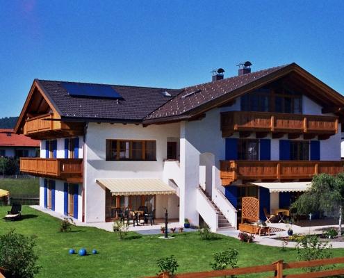 Gästehaus -Bayern Die Ferienwohnung im Sommer