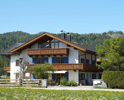 Gästehaus -Bayern im Sommer