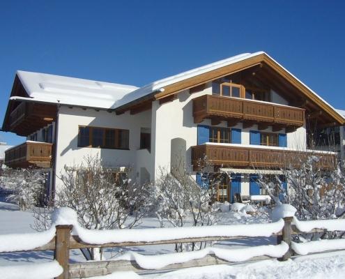 Gästehaus -Bayern im Winter
