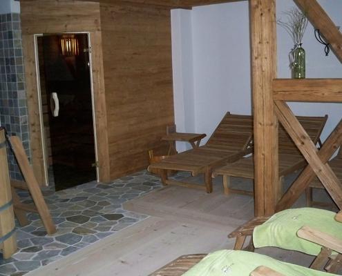 Ferienwohnung Buchenhof Sauna Ruheraum
