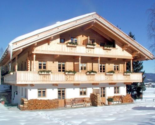 Ferienwohnung Buchenhof im Winter