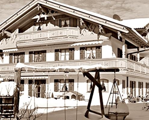 Ferienwohnung Christina Winterlandschaft - SW