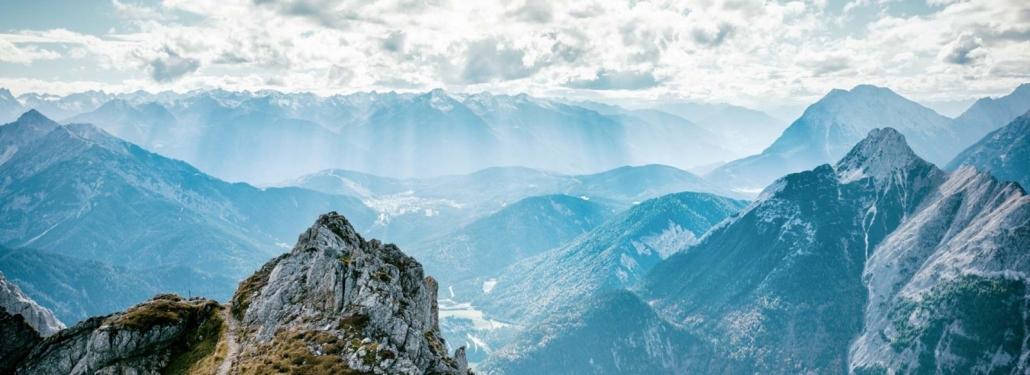 Alpenblick in das Karwendel