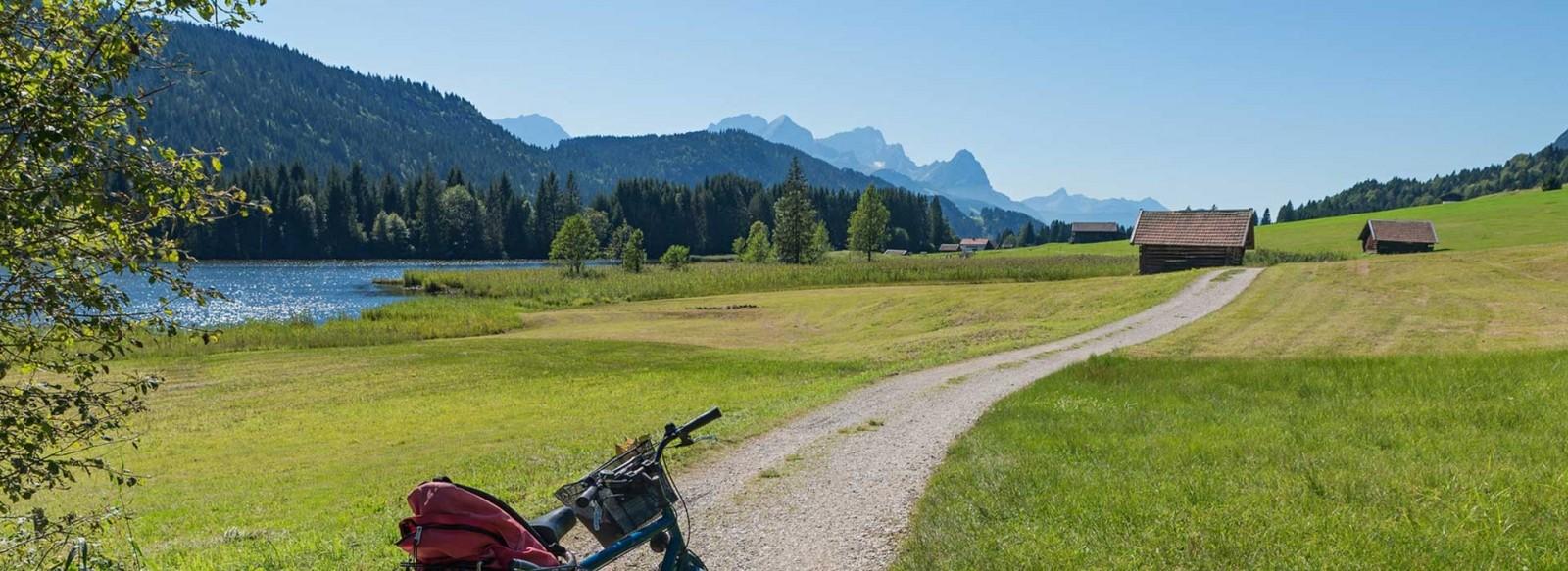 Fahrradtour und Mountenbiketouren im Karwendel