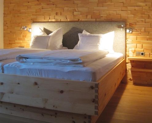 Ferienwohnung Ferlhof - Schlafzimmer