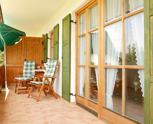 Ferienwohnung Bernhard - Balkon
