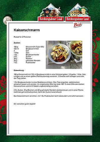 Kaiserschmarrn Rezept