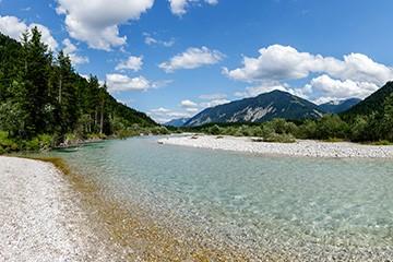 Sommer im Karwendel - Isar