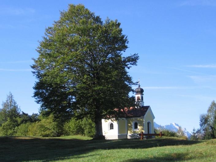 Kapelle Maria-Rast im Karwendel