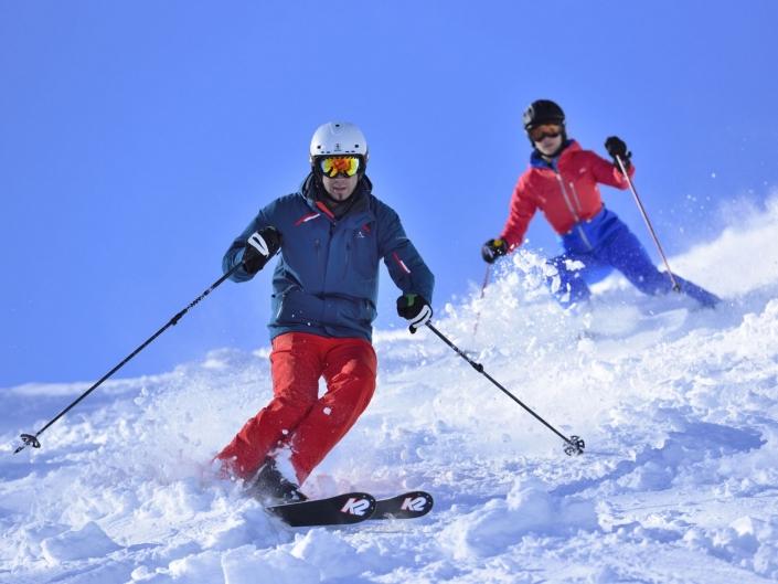 Skifahren im Karwendel