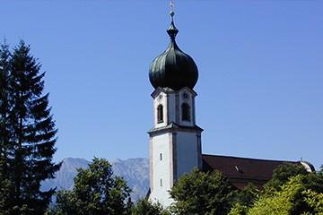 Sehenswürdigkeiten rund um Krün und Wallgau im Karwendel