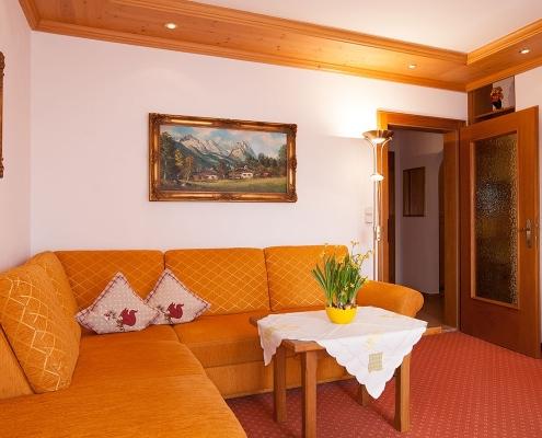 Ferienwohnung Alpenblick Lautersee - Couch
