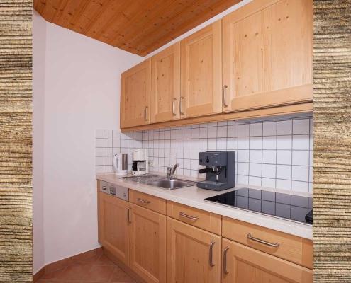 Ferienwohnung Alpenblick Lautersee Küche