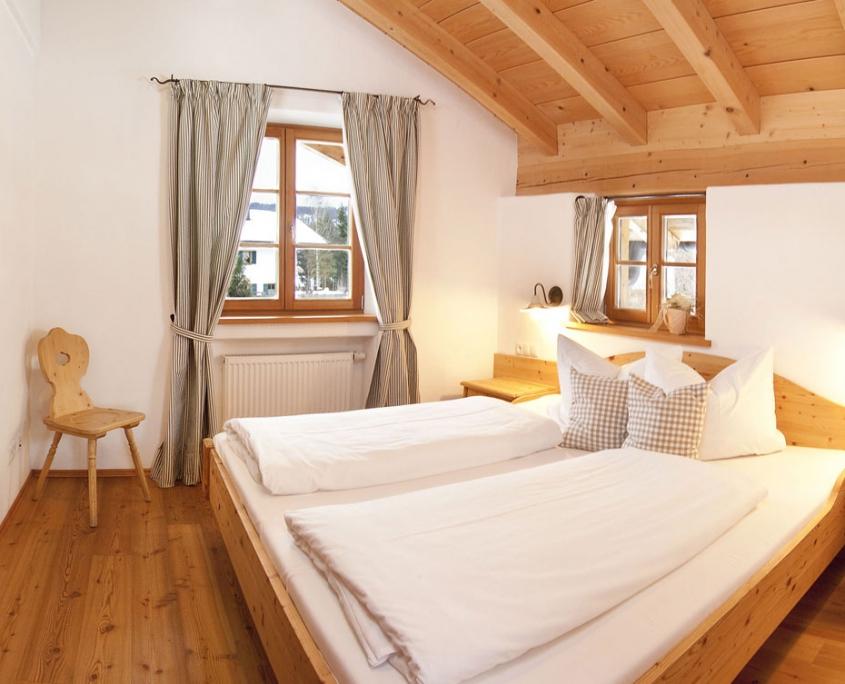 Ferienwohnung Bärnbichl - Schlafzimmer