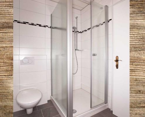 Ferienwohnung Alpenblick Soiernsee Dusche