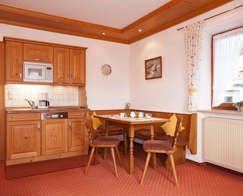 Ferienwohnung Alpenblick Soiernsee Küche