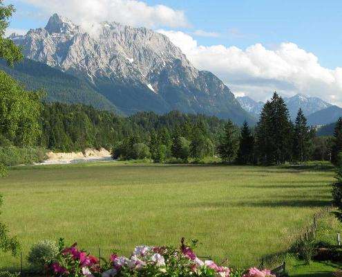Ferienwohnung Alpenblick - Panoramablick von Balkon App. Walchensee
