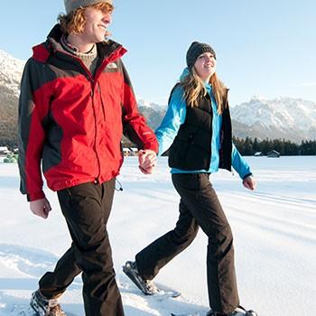 Winter-Schnupper-Winter-Schnupper-Wochen im Karwendel beim Ferienhof zum Baur in Krün