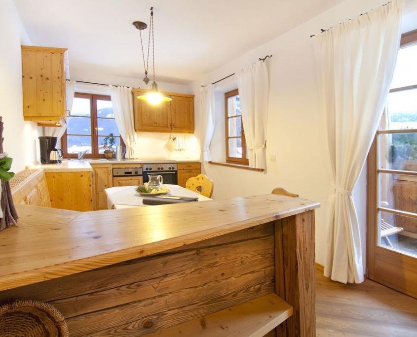 Ferienwohnung Bärnbichl - Wohnküche