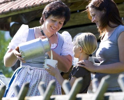 Ferienwohnung Zum Baur - Gastgeberin Barbara Heiß