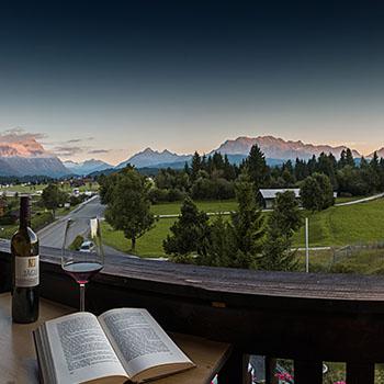 Natur Pur gemütliche Ferienzimmer Hotel Alpenhof Wallgau Krün Mittenwald