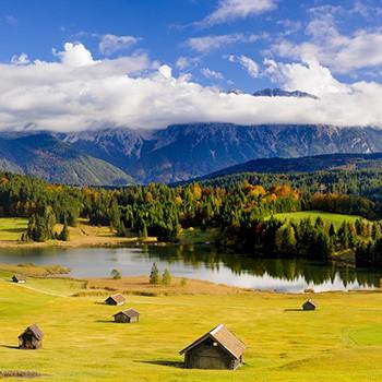 Urlaubsparadies Krün im Karwendel