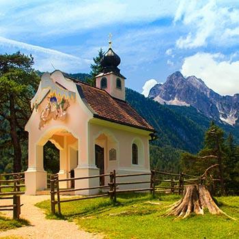 Urlaubsregion Mittenwald im Karwendelgebirge