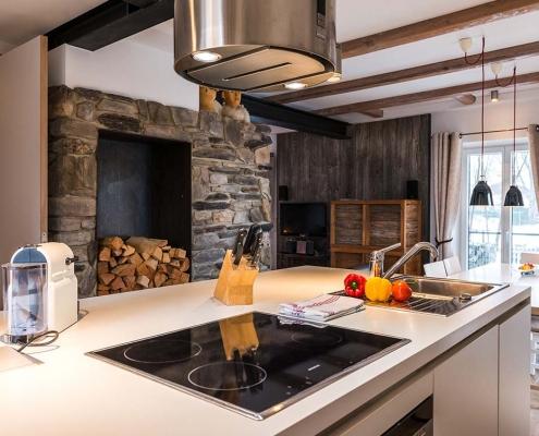 Ferienhaus Alpenblicke Kochbereich