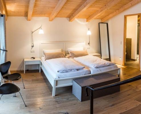 Ferienhaus Alpenblicke Schlafzimmer