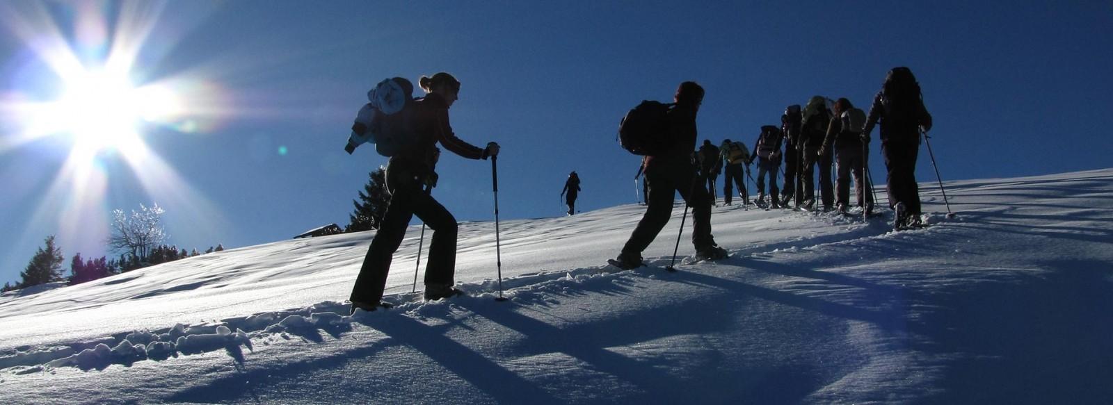 Winterferien im Karwendel in Krün und Wallgau - Winterurlaub