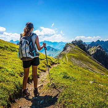 Digital Detox Angebot und Entschleunigen im Urlaub in den Bergen im Karwendel