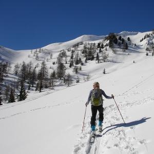 Skitouren gehen rund um Krün und Wallgau