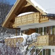 Winterurlaub im Gästehaus Bernhard - freie Ferienwohnung in Krün buchen