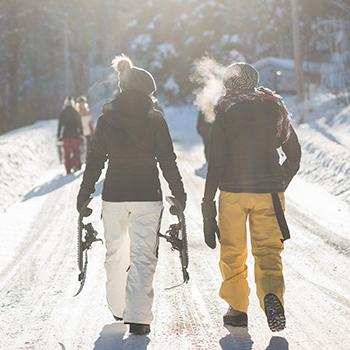 Schneeschuhwanderungen in Wallgau BR Schneeschuhnacht