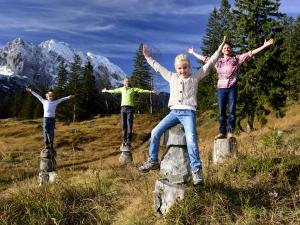 Urlaub mit der Familie in Mittenwald am Kranzberg