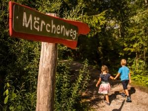Der Märchenweg für Kinder in Wallgau